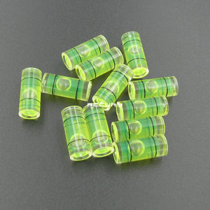 Image 4 - 20pcs 7*16mm Spirit level vial Plastic Mini level Plastic bubble level  Acrylic leveler for Wall TV or Hanging wall picture