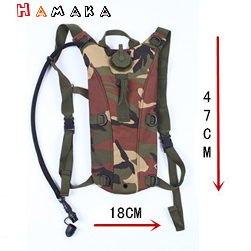 3L Outdoor Hydration Pack Military Backpack Water Storage Bag Hiking Sport Pouch