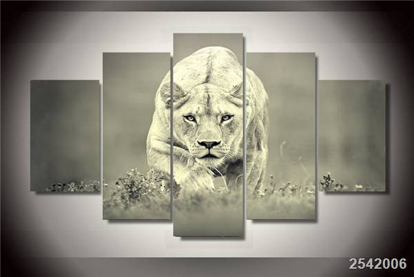Hd Printed African Lion Painting On Canvas Room Decoration Print Poster Picture Canvas Free Shipping/Ny-2062 Christmas gift