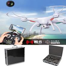 Free Shipping! White Syma X5SW Explorers-II RC Drone Quadcopter 2MP Wifi Camera + Carrying Case