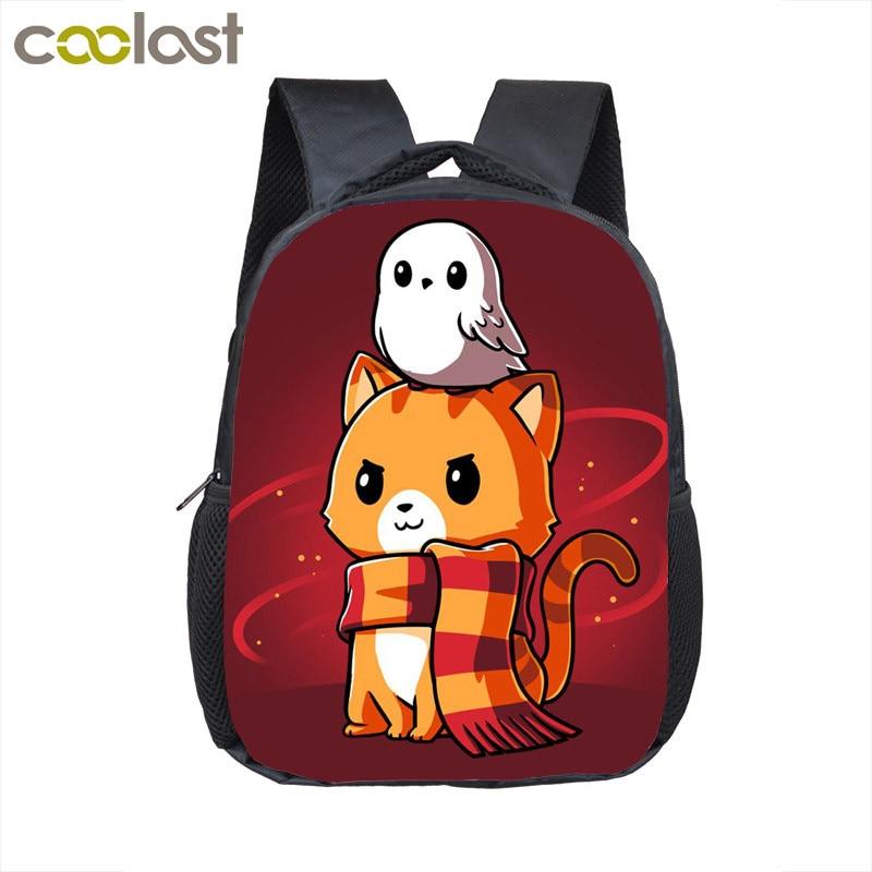 Cute Cartoon Movie Character Backpack Boys Girls Kindergarten Bag Children School Bags Backpack Kids Book Bag Baby Diaper Bags