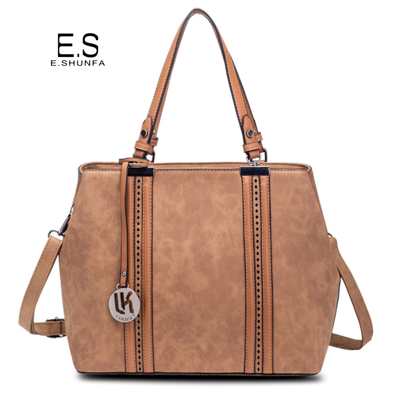 цены на Fashion Shoulder Bag Woman Bag 2018 New Arrivals PU Leather Handbag Large Capacity Casual Tote Shoulder Bags Women Handbags