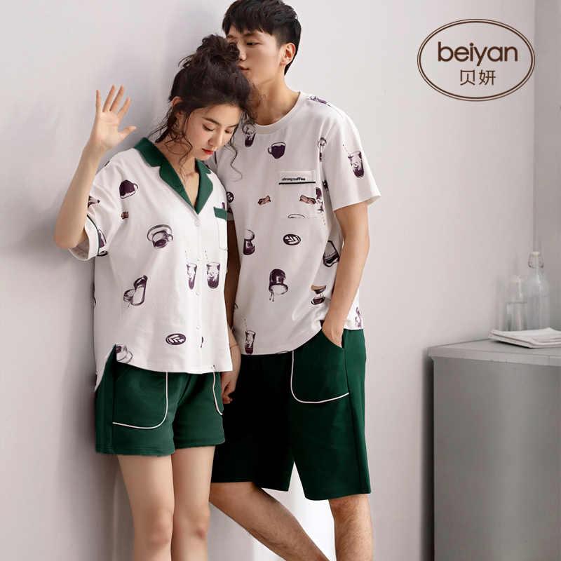 b5bdff10 Detail Feedback Questions about Summer Men Pyjamas Short Sleeve 100 ...