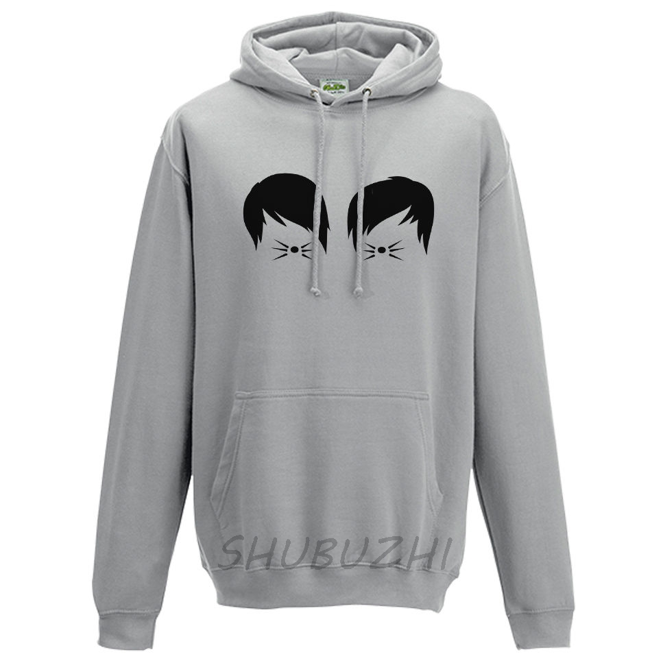 e016604cc9fe Dan and Phil Cat Whiskers Hoodie Youtube Vlogger Viral Blog Fashion Hoody  Top-in Hoodies   Sweatshirts from Men s Clothing   Accessories on  Aliexpress.com ...