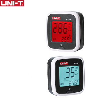 UNI-T A25M PM2.5 Testers Air Quility Measurement 0~500ug Cubic meters Auto Range Overload Indicate Input Battery