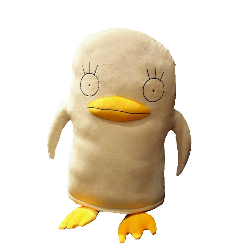 Super Funny Big Mouth Duck plush Toys White Duck with Yellow Paws soft doll Japanese Anime toy baby kids sleep appease doll