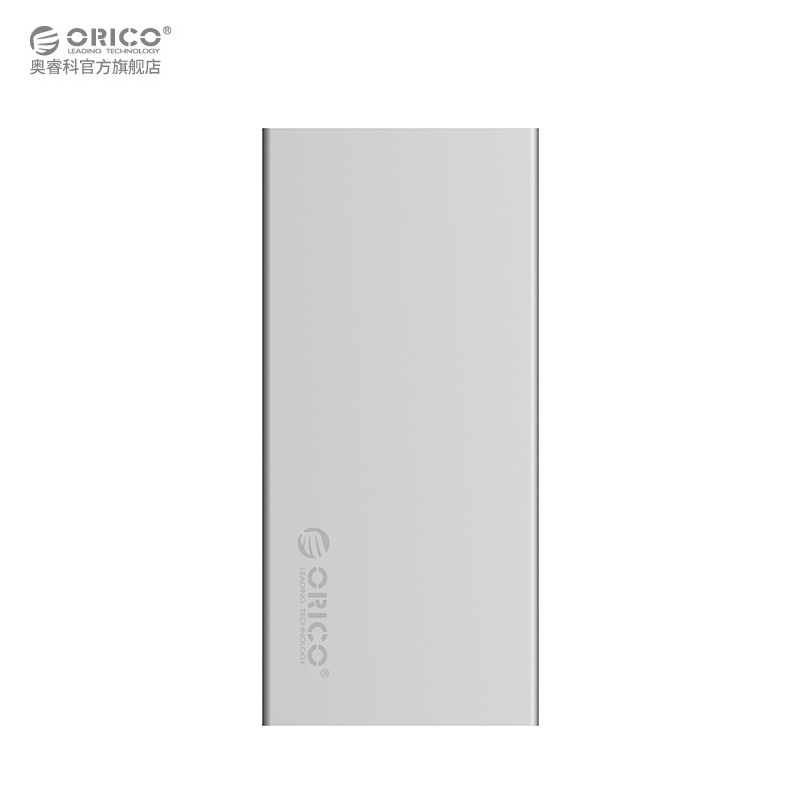 ORICO Aluminum Dual-bay 10Gbps M.2 RAID External Hard Drive Enclosure Support UASP Hot Swapping with Type C to Type-C Cable