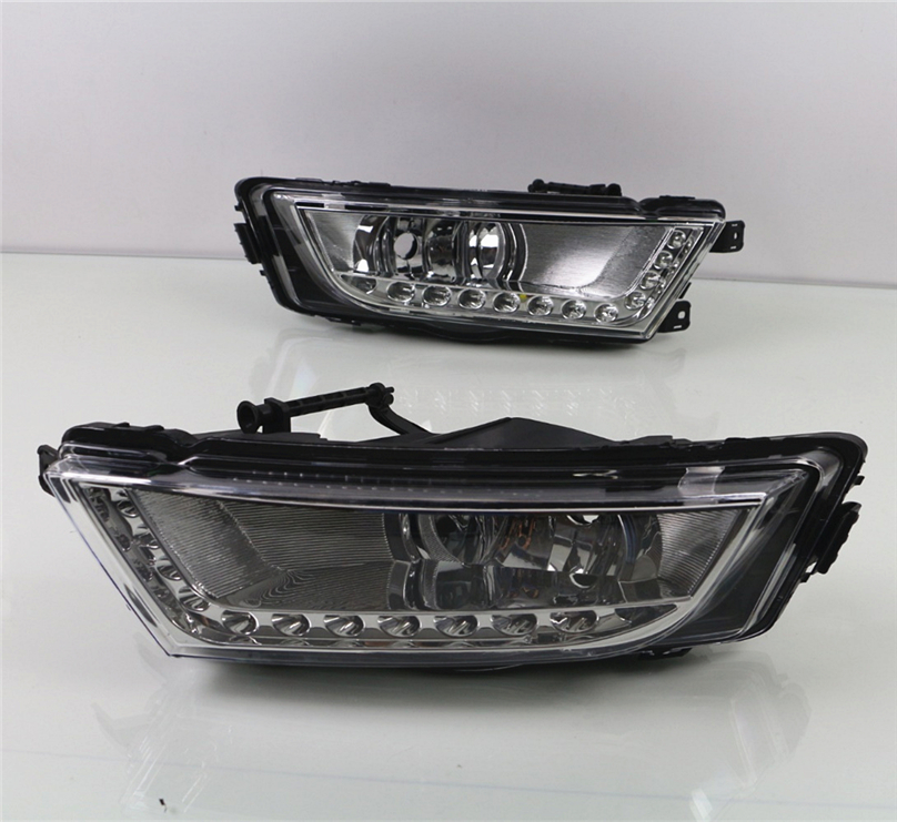 Car Flashing For Skoda Octavia A7 MK3 2014 2015 2016 LED DRL Daytime Running Lights Daylight Waterproof Signal car Styling light-in Car Light Assembly from Automobiles & Motorcycles    3