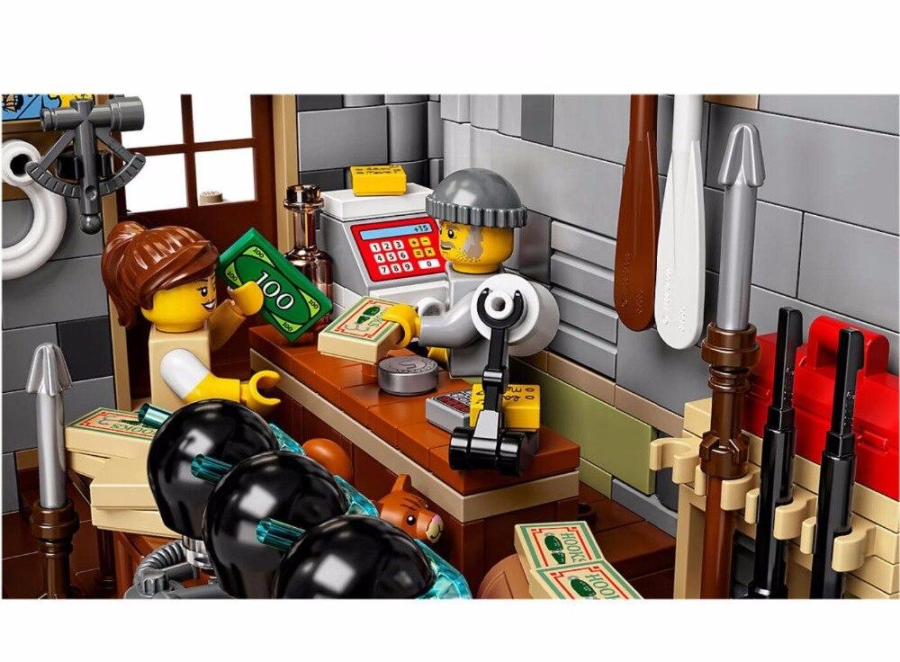 Le Vieux Finissage Magasin 2049 pièces modélisme kits compatible avec lego brique GPM Série Enfants Éducatifs - 6