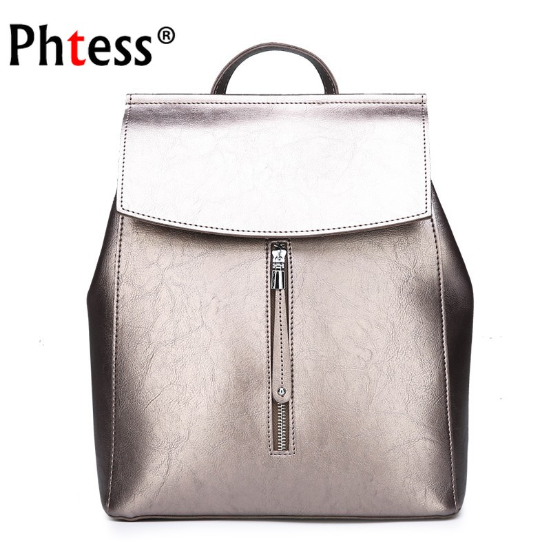 2019 Women Leather Backpacks For Girls Sac A Dos Female Backpack Preppy School Bags For Girls Large Capacity Back Pack Mochilas