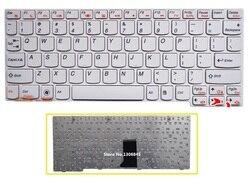 SSEA nowy US klawiatura do lenovo U160 U165 S200 S205 laptopa biała klawiatura w Zamienne klawiatury od Komputer i biuro na