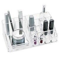 New Makeup Organizer Chic Cosmetic Jewelry Case Lipstick Brush Insert Holder Box Sale KQS
