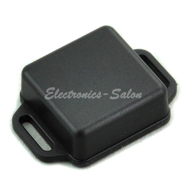 Small Wall-mounting Plastic Enclosure Box Case, Black,36x36x15mm, HIGH QUALITY.