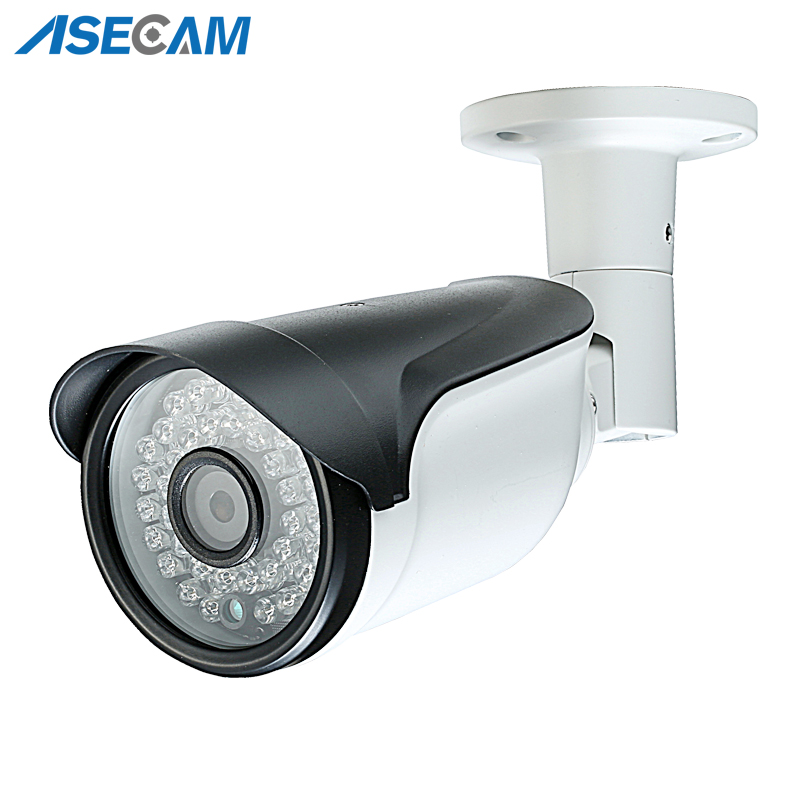 HD 1080P Security Camera 48V POE CCTV infrared Night Vision Bullet Metal Waterproof Onvif Network IP Camera P2P Xmeye App in Surveillance Cameras from Security Protection