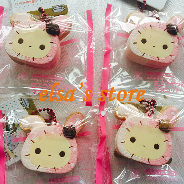 Bunny Wishes Squishy : squishies wholesale 10pcs kawaii rare squishy lot pink bunny squishy toys charm strap pendant ...