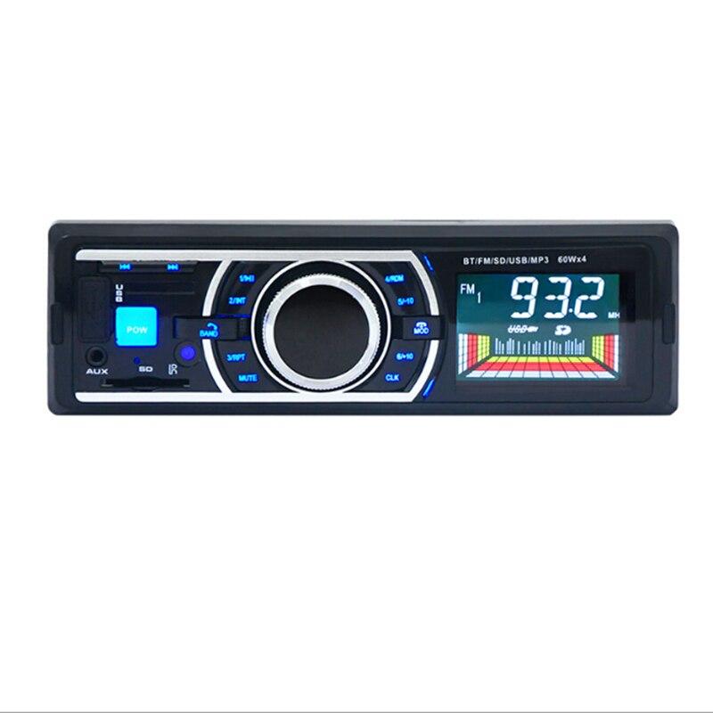2017 Nueva 12 V Car Stereo Radio FM Reproductor de MP3 de Audio de Apoyo Teléfon
