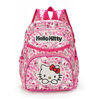 Hello Kitty Girl S School Bag Child Backpack Bags School Backpacks Schoolbag Bags Lovely Children Backpack