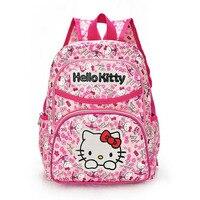 Hello Kitty Girl S School Bag Child Backpack Bags School Backpacks Schoolbag Bags Lovely Children Backpack