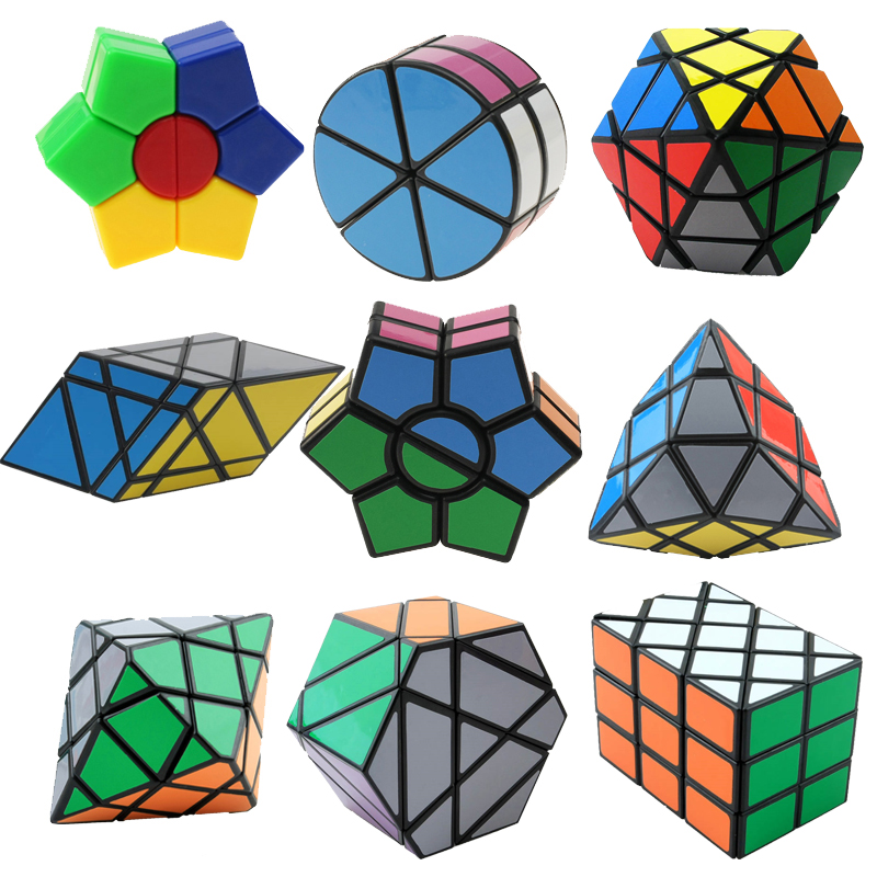 все цены на Strange-Sharp Magic Speed Cube Educational Learning Toys For Children Kids Gift Puzzle Speed Cube Challenge Magico Cubo Toy