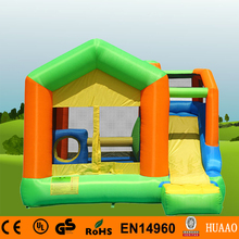 Free Shipping Family Use Bouncer Yard Bouncer Inflatable Mini Bouncer with Slide Indoor Playground with Free CE blower