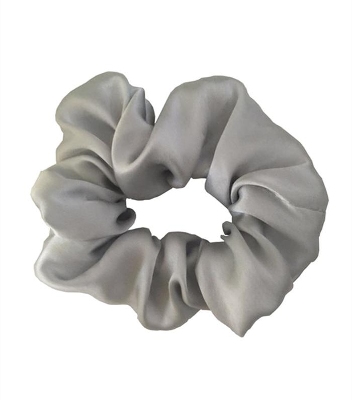 Gratis frakt 100% Pure Silk Hair Scrunchies Charm Hair Bands Mode - Kläder tillbehör - Foto 4