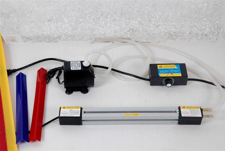 ФОТО 1set 23''(60cm)Acrylic Hot-bending Machine Plexiglass PVC Plastic board Bending Device Advertising signs and light box