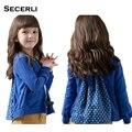 2017 Nova Primavera Crianças Blusas Meninas 2 A 10 Anos de Idade Do Bebê Da Menina Camisola de Malha Primavera Outono Crianças Meninas Cardigan roupas