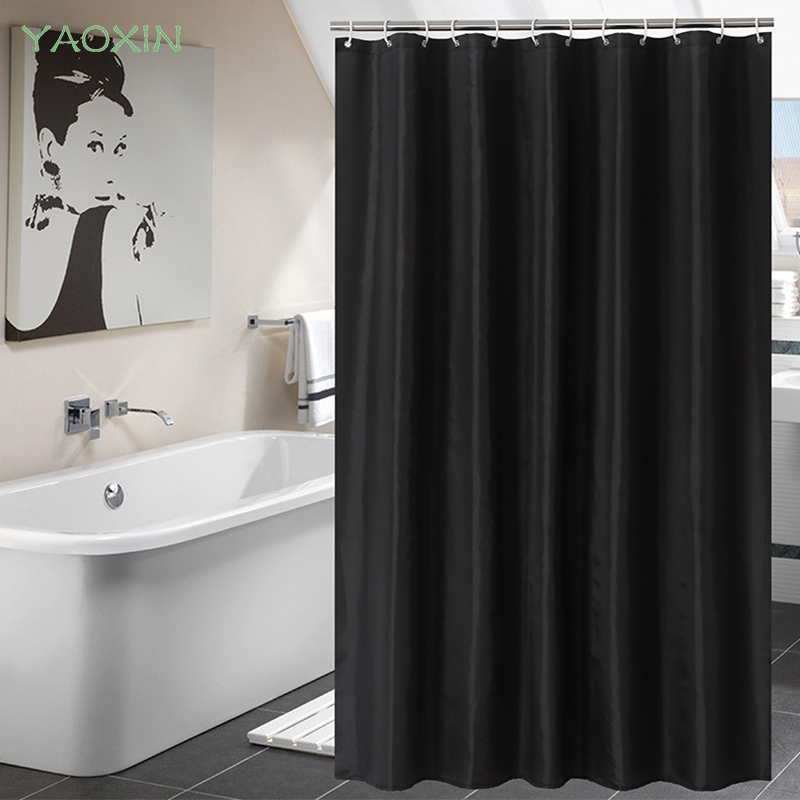 Free shipping Curtain pattern waterproof bathroom curtains modern solid  blue color shower curtain for bath shower. Compare Prices on Bathroom Curtain Patterns  Online Shopping Buy