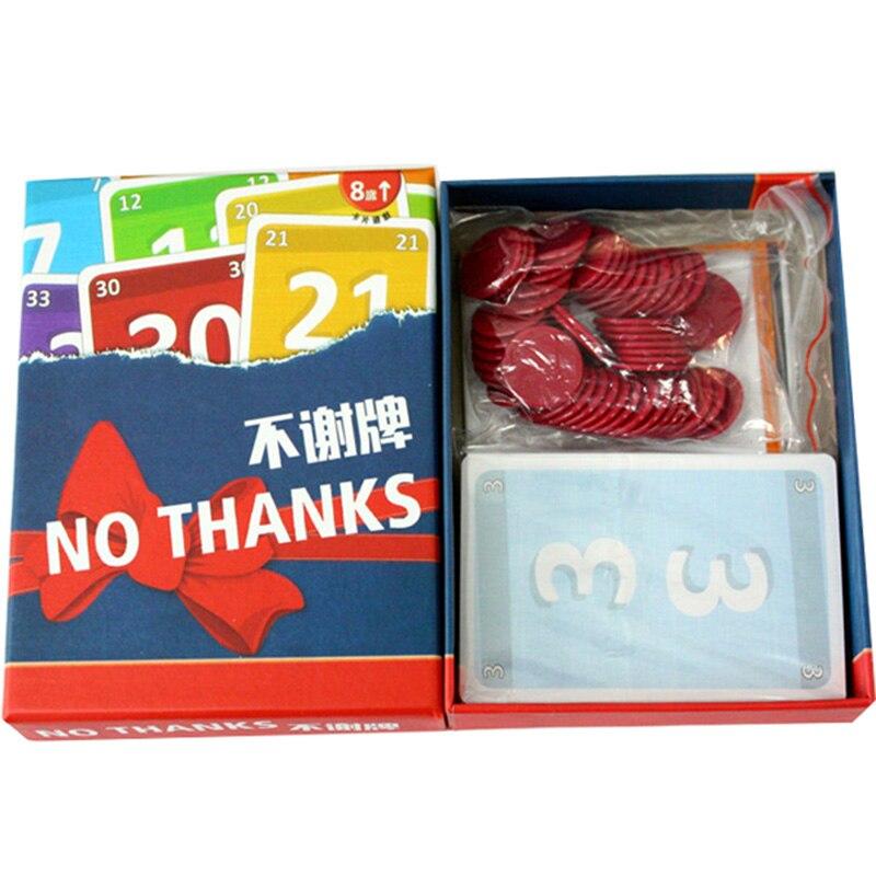 Nein Danke! Board Spiel 3-7 Spieler Familie/Party Beste Geschenk für ...