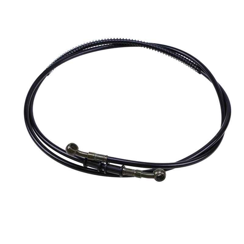 Motorcycle Dirt Bike Universal 50-190cm Black Brake Clutch Throttle Cable Oil Hose Line Pipe ATV Cruiser Chopper Scooter Custom
