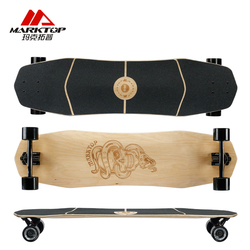 MARKTOP 9.85*38Pro road dancing complete longboard deck made by 8layers maple quality warranty for Pro SK8ER or New SK8ERS