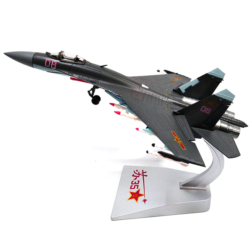 Fighter Die Casting Super Flank Russian Su-35 for Children 1/72 Alloy Miniature Model Childrens Day giftFighter Die Casting Super Flank Russian Su-35 for Children 1/72 Alloy Miniature Model Childrens Day gift