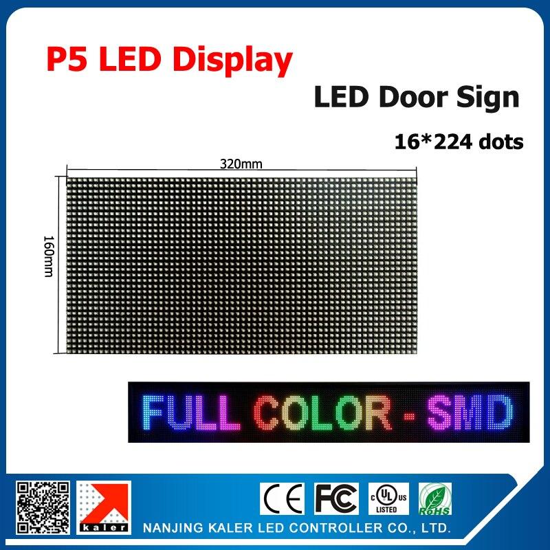 kaler P5 320*160mm full color led module P5 RGB SMD indoor high resolution LED matrix display 16*224cm led video screen