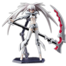 Anime figure Black Rock Shooter Hatsune PVC Action figure WHITk Shooter figma Hatsune Miku Collection TOY model RETIAL BOX zy028