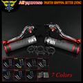 7 Colors CNC Motorcycle Brake Clutch Levers and  Handlebar Hand Grips For Ducati 796 696 MONSTER HYPERMOTARD 1100/S/EVO SP