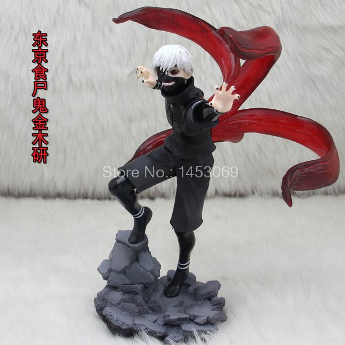 цены Anime Tokyo Ghoul 2 Edition Kaneki Ken 1/7 Scale Painted Figure Red & Black Ver. PVC Figure Collectible Toys