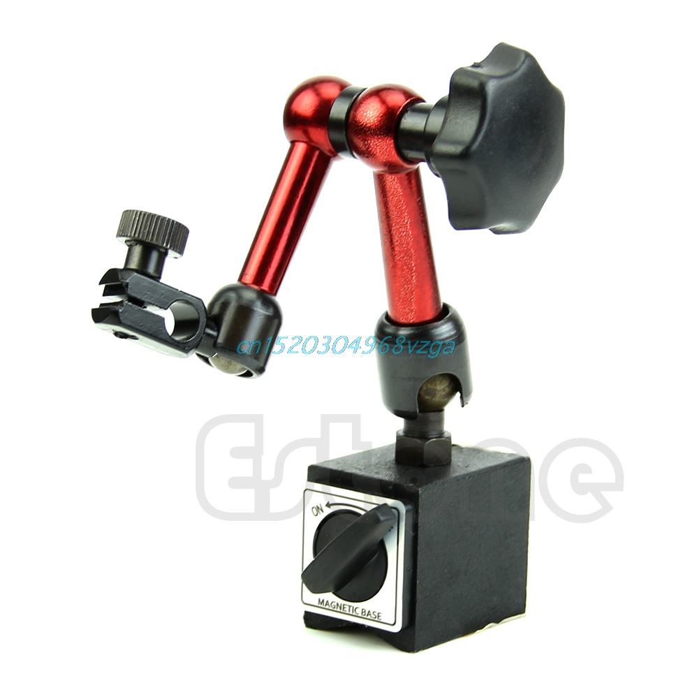 Flexible Magnetic Base Stand Holder Universal For Dial Gauge Test Indicator Tool #H028#