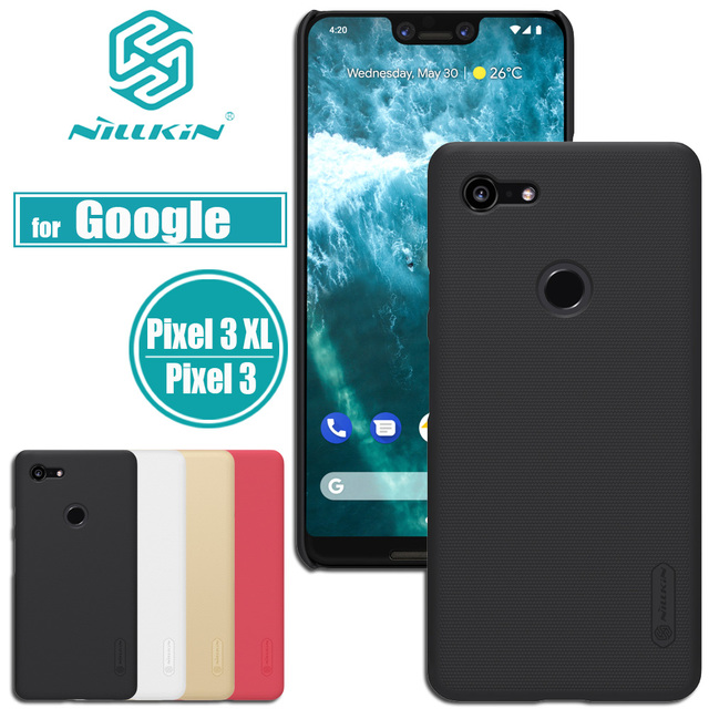 official photos 2baaa 7d4cd US $7.99 10% OFF Nilkin for Google Pixel 3 XL Case Cover Nillkin Frosted  Matte Hard PC Plastic Smart Phone Back Cases for Google Pixel 3 XL Capa-in  ...