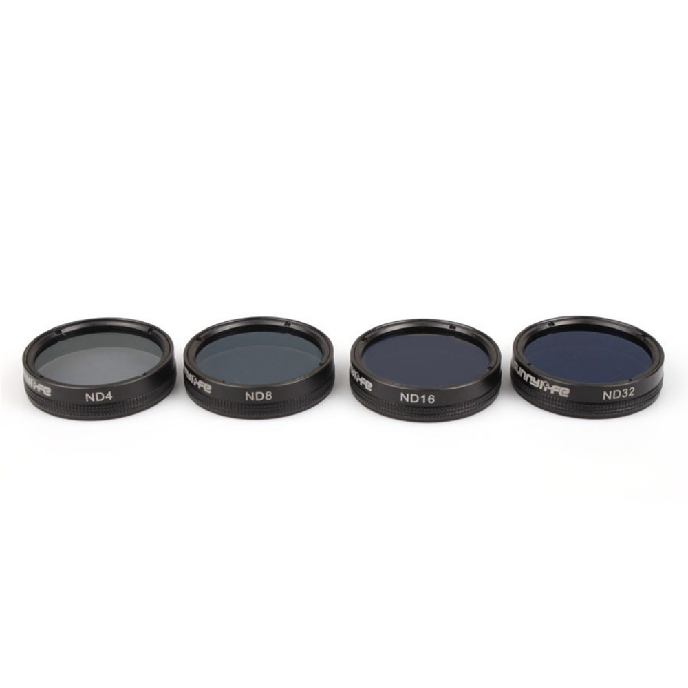 Snap on Filters Set 4Pcs ND4/8/16/32 Lens Filter Kit for DJI Phantom 4 PRO / PRO+ Drone Accessories серьги коюз топаз серьги т145624223