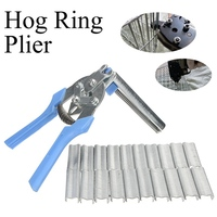 Poultry Pet Hog Cage Pliers Birdcages Wire Fencing Installation Clamp 600 Clips