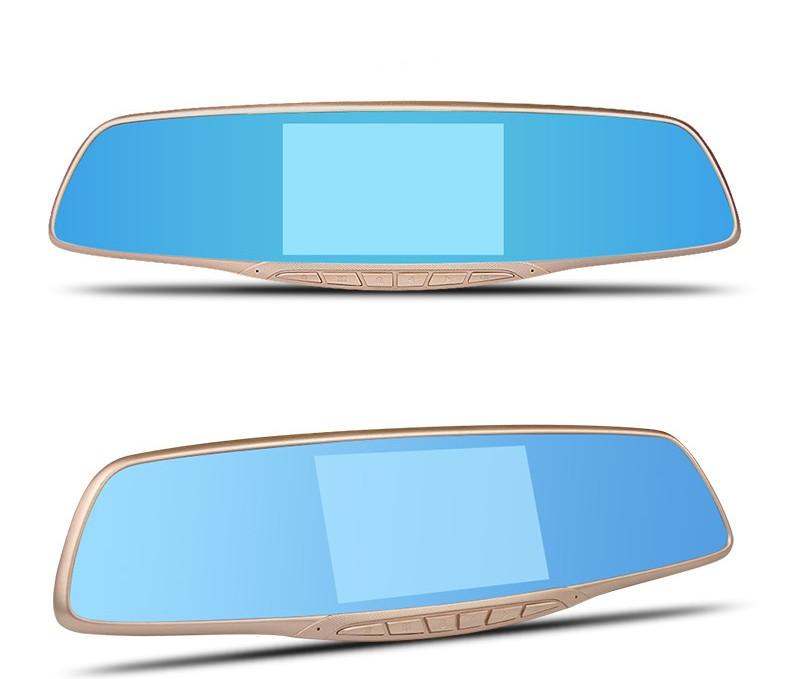 Jansite Car DVR Camera Review Mirror FHD 1080P Video Recorder Night Vision Dash Cam Parking Monitor Auto Registrar Dual Lens DVR 17