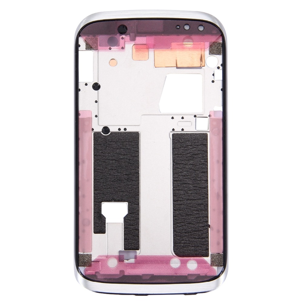 H New For Front Housing LCD Frame Bezel Plate For HTC Desire X / T328e(White)