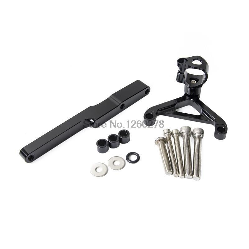 CNC Steering Damper CB1000R De Montagem Kit Para Honda 2008 2009 2010 2011 2012 2013 2014 2015