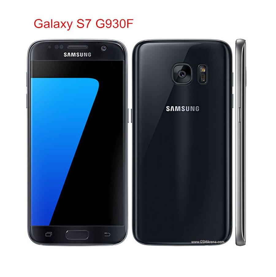 Samsung Galaxy S7 G930F Original Unlocked LTE Android Mobile Phone Octa Core 5.1