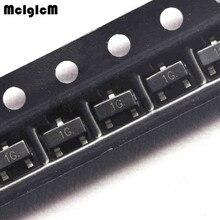 MCIGICM 100 шт. BC847C BC847 СОТ-23 Силовые транзисторы NPN 45V 0.1A