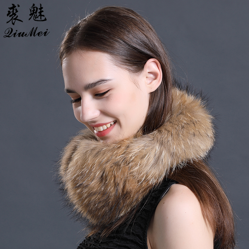 Men's Accessories Winter Women Warm Real Fox Earmuffs Girls Earlap Ultralarge Imitation Ladies Plush Ear Muff Raccoon Plush Earmuffs #2
