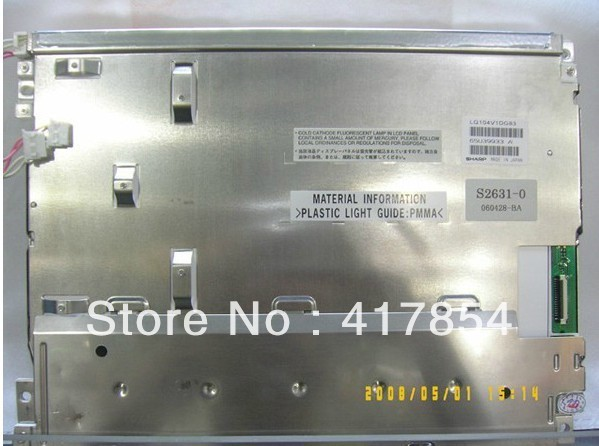 Free shipping 10.4 INCH LQ104V1DG83 LCD screen panel control free shipping original 9 inch lcd screen cable numbers kr090lb3s 1030300647 40pin