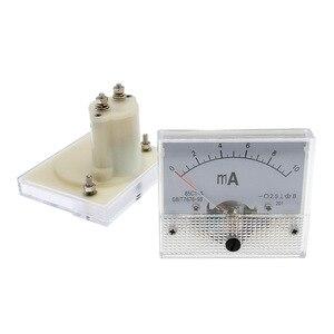 Painel de medidor de corrente analógica da c.c. 85c1 amperímetro 1/5/10/20/30/50/100/200/300/500ma uma corrente de calibre ammetros mecânicos