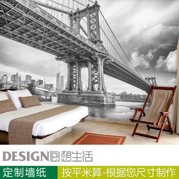 Black-and-white a large scenic mural wallpaper  tv background wall paper  3D Wallpaper customization  free shipping hepburn classic black and white photos wallpaper old photos tv background wall mural wallpaper