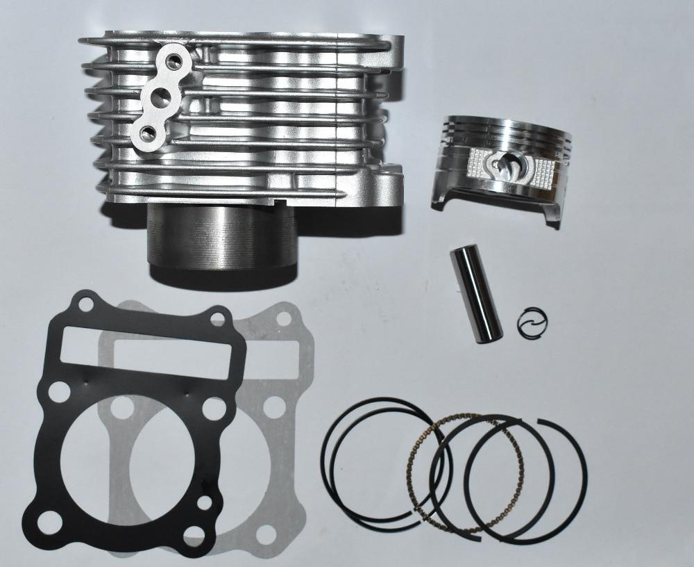 FLAT top Barrel Cylinder Piston Kit Upgrate to 150cc 62mm for GS125 GN125 EN125 GZ125 DR125